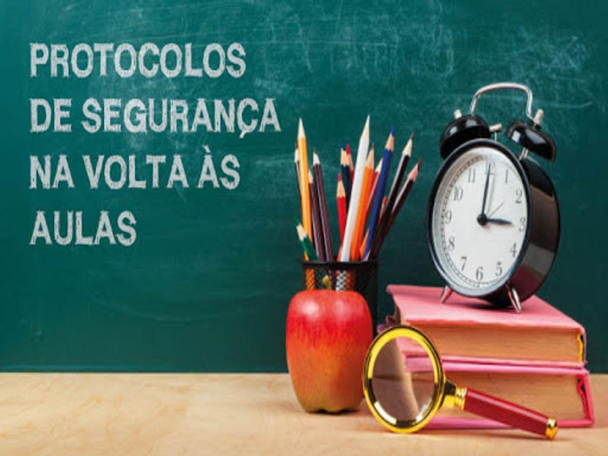 PROTOCOLOS DE BIOSSEGURANÇA PARA OS ESTABELECIMENTOS DE ENSINO DE EDUCAÇÃO BÁSICA